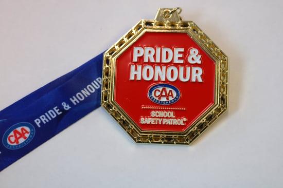 CAA School Safety Patrol Medal  #2 -min