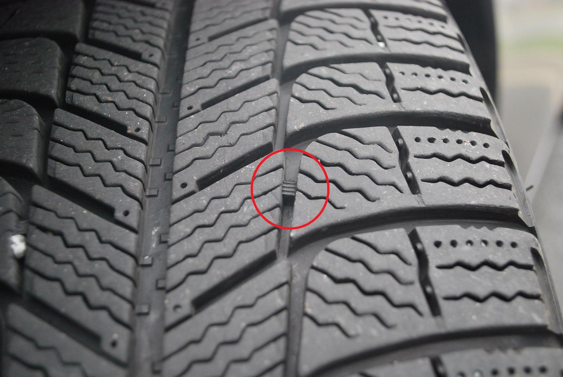 Tire Wear Bar