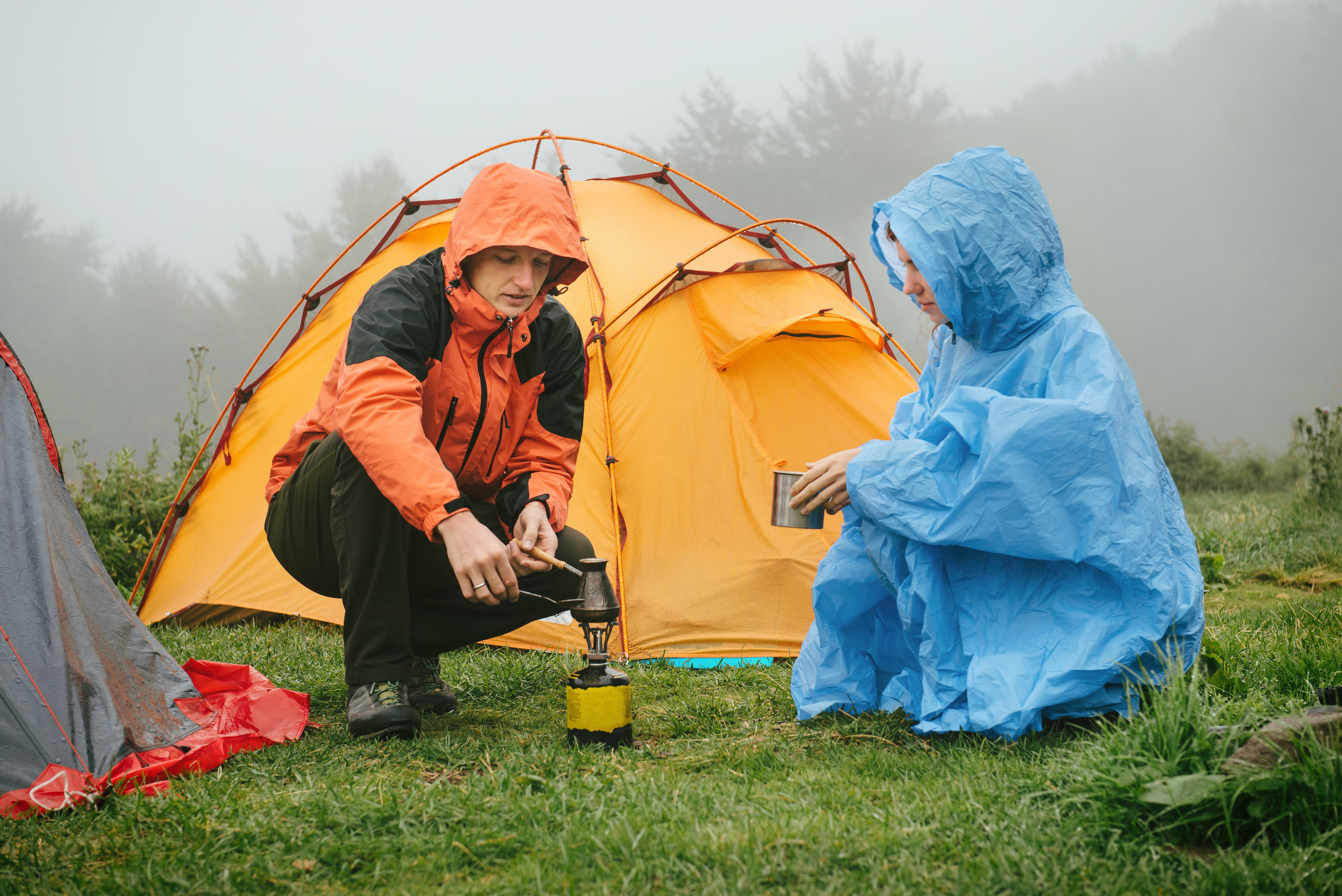 10 Tips for Camping in Cold or Wet Weather